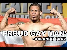 Orlando Cruz a 'proud gay man